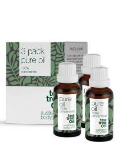Australian Bodycare Sampak 3x30 ml. Pure Oil
