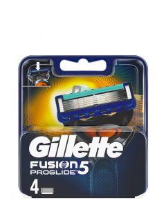 Gillette Fusion ProGlide Power, 4 stk.