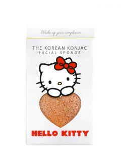 The Konjac Sponge Sanrio Hello Kitty and Hook Set. Pink Clay