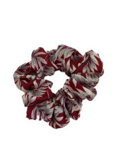 JA•NI hair Accessories - Hair Scrunchie, The Red Leafs