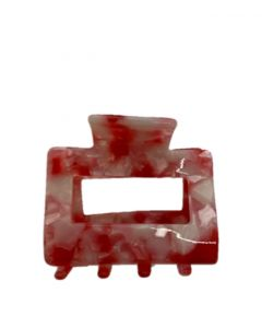 JA•NI Hair Accessories - Hair Clamps Sofia, The Red Marble