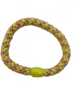 JA•NI Hair Accessories - Hair elastics, The Pink & Yellow