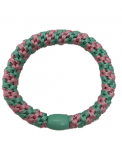 JA•NI Hair Accessories - Hair elastics, The Mint & Pink