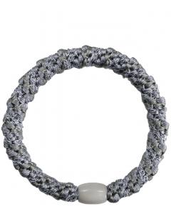 JA•NI Hair Accessories - Hair Elastics, The Silver & Grey