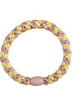 JA•NI Hair Accessories - Hair Elastics, The Pink & Yellow Pastel