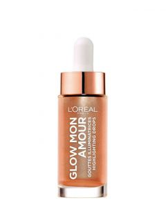 L'Oreal Paris Glow Mon Amour Highlighting Drops 02 Loving Peach, 15 ml.
