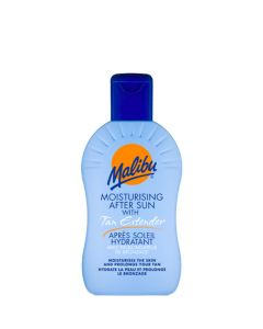 Malibu Moisturising After Sun Lotion With Tan Extender, 200 ml.