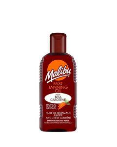 Malibu Fast Tanning Oil, 200 ml.