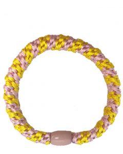 JA•NI Hair Accessories - Hair elastics, The Yellow & Baby Pink