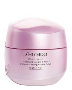 Shiseido White Lucent Overnight cream & mask, 75 ml.
