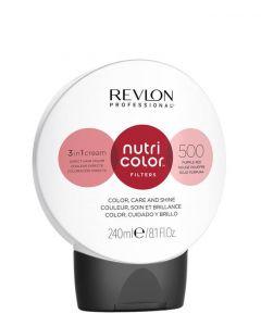 Revlon Nutri Color Filters 500 Purple Red, 240 ml.
