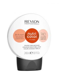 Revlon Nutri Color Filters 740 Light Copper, 240 ml.