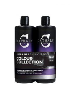 Tigi Catwalk Fashionista Violet Tween Duo, 2x750 ml.